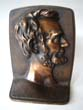 click to view detailed description of A large single Abraham Lincoln bookend circa 1930